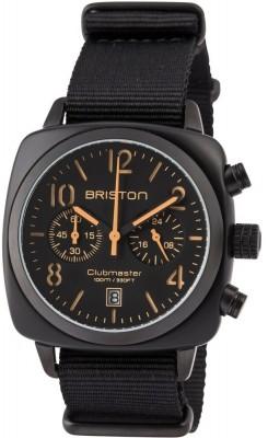 Ceas Barbatesc BRISTON Clubmaster Classic Acetate Chrono 13140.PBAM.B.4.NB