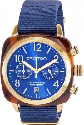 Ceas Barbatesc BRISTON Clubmaster Classic Acetate Chrono 15140.PYA.T.9.NNB