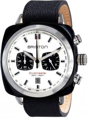 Ceas Barbatesc BRISTON Clubmaster Sport Acetate Chrono 15142.SA.BS.2.LSB