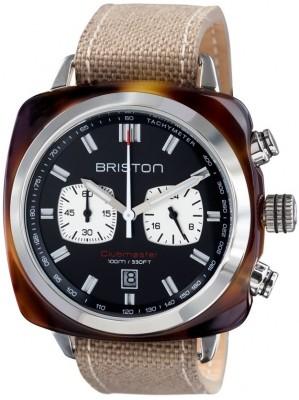 Ceas Barbatesc BRISTON Clubmaster Sport Acetate Chrono 15142.SA.TS.1.LSK