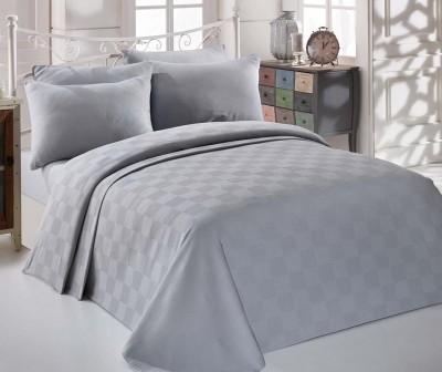 Cuvertura Pique Kare Orgu Grey 200x234 cm