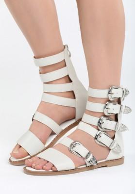 Sandale dama Ventana Albe