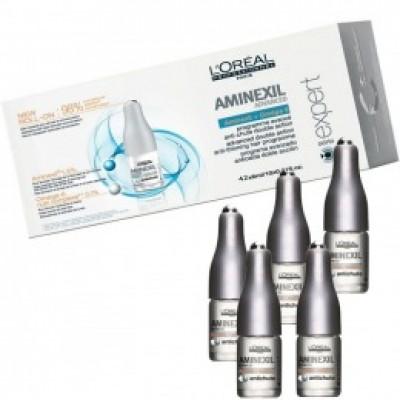 Ser Tratament Anticadere - L'Oreal Professionnel Aminexil Advanced Anti - Thinning Hair Programme 42 x 6 ml