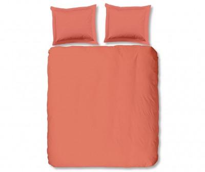 Set de pat Single Ranforce Uni Peach
