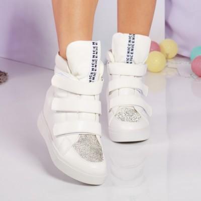 Sneakers Indira albi