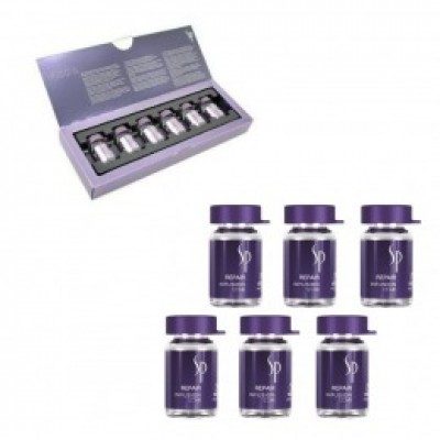 Tratament Reparator pentru Par Degradat - Wella SP Repair Infusion 6 x 5 ml