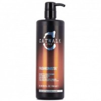 Balsam pentru Par Brunet - TIGI Catwalk Fashionista Brunette Conditioner 750 ml