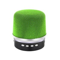 Boxa portabila NBY BY1030, Bluetooth, Radio FM, USB, microSD, Handsfree, 300mAh, Green