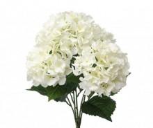 Buchet flori artificiale Hydrangea Cream