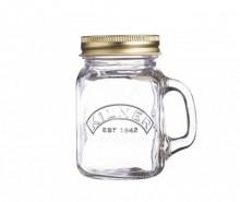 Cana cu capac Mini Jar 140 ml