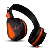 Casti Gaming OVANN X17, Black si Orange