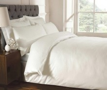 Cearsaf de pat cu elastic Brighton Hill Premium Cream 90x190 cm
