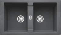 Chiuveta fragranite Franke Maris MRG 620 reversibila 860x500 tehnologie Sanitized Grafite