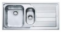 Chiuveta inox Franke Logica LLL 651 2 cuve si picurator dreapta inox dekor