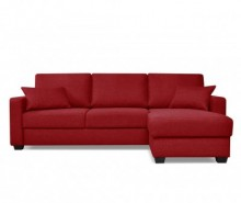 Coltar extensibil reversibil Milano Red