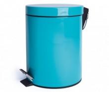 Cos de gunoi cu capac si pedala Complete Light Blue 12 L