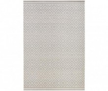 Covor de exterior Meadow Raute Grey Cream 140x200 cm