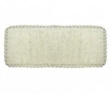 Covoras de baie Avorio Grey 50x160 cm