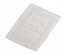 Covoras de baie Feet White 50x70 cm
