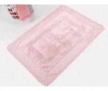 Covoras de baie Lizz Pink 55x72 cm
