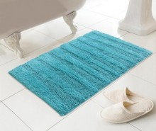 Covoras de baie Madison Teal 46x76 cm