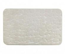 Covoras de baie Pebbles Beige 50x80 cm