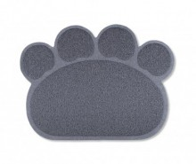 Covoras de intrare Dog Footprint Grey 45x60 cm