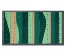 Covoras de intrare Flomat Lines Green 40x70 cm
