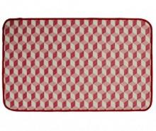 Covoras de intrare Shine Cube Red 53x110 cm