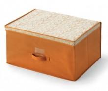 Cutie cu capac pentru depozitare Bloom Orange L