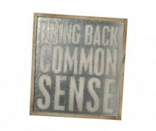 Decoratiune de perete Common Sense