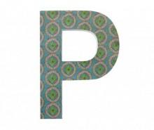 Decoratiune de perete Letter P