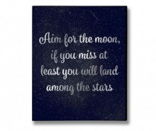 Decoratiune de perete Moon