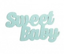 Decoratiune de perete Sweet Baby Turquoise