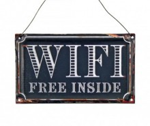 Decoratiune de perete WiFi