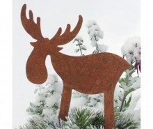 Decoratiune Rusty Reindeer