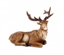 Decoratiune Sitting Reindeer