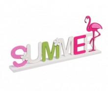 Decoratiune Summer Flamingo