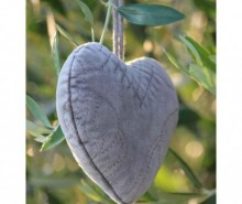 Decoratiune suspendabila Heart Grey