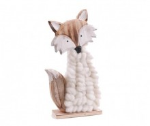 Decoratiune White Sweater Fox