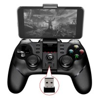 Dispozitiv gaming iPega 9076 2.4G, Bluetooth, Negru