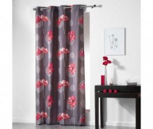Draperie Clematis Rouge 140x240 cm