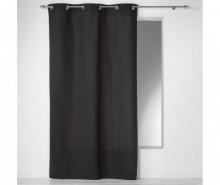 Draperie Panama Black 140x240 cm