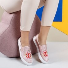 Espadrile Hamal roz
