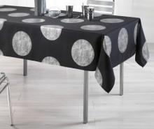 Fata de masa Platine Black 150x240 cm