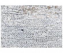 Fototapet White Brick 254x368 cm