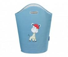 Geanta pentru rufe Baby Giraffe Blue 24 L
