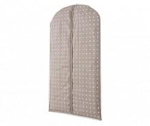 Husa pentru haine Spots Brown 60x100 cm