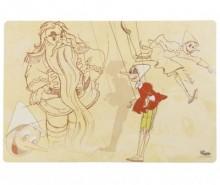 Individual Pinocchio Mangiafocco 30x44.5 cm