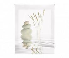 Jaluzea tip rulou Zen Aqua 80x180 cm